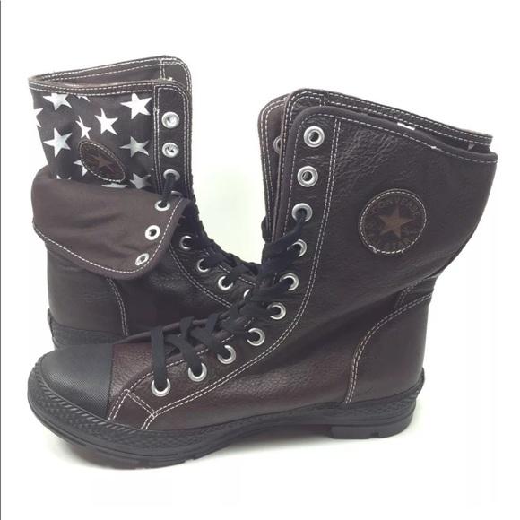 dda565859c1967 Converse Other - NEW Converse Chuck Taylor XHI Storm Boots Brown 10